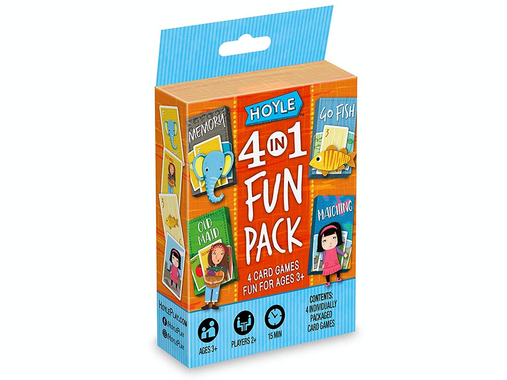 HOYLE 4-in-1 CARDGAME FUN PACK