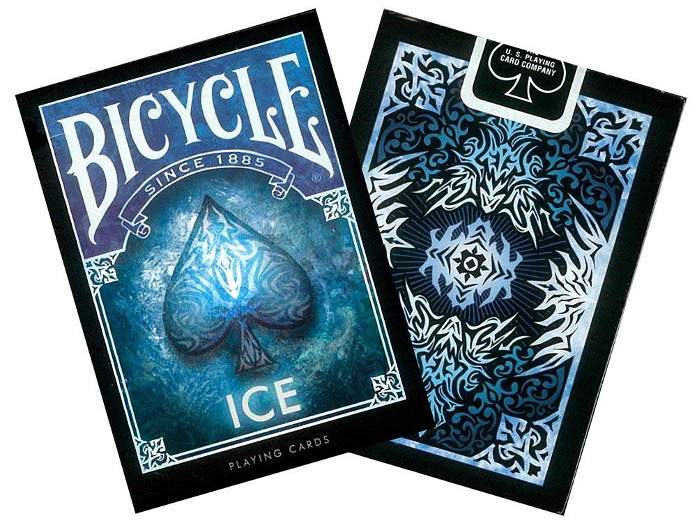 Bicycle Poker Ice Usp02429 Jedko Games