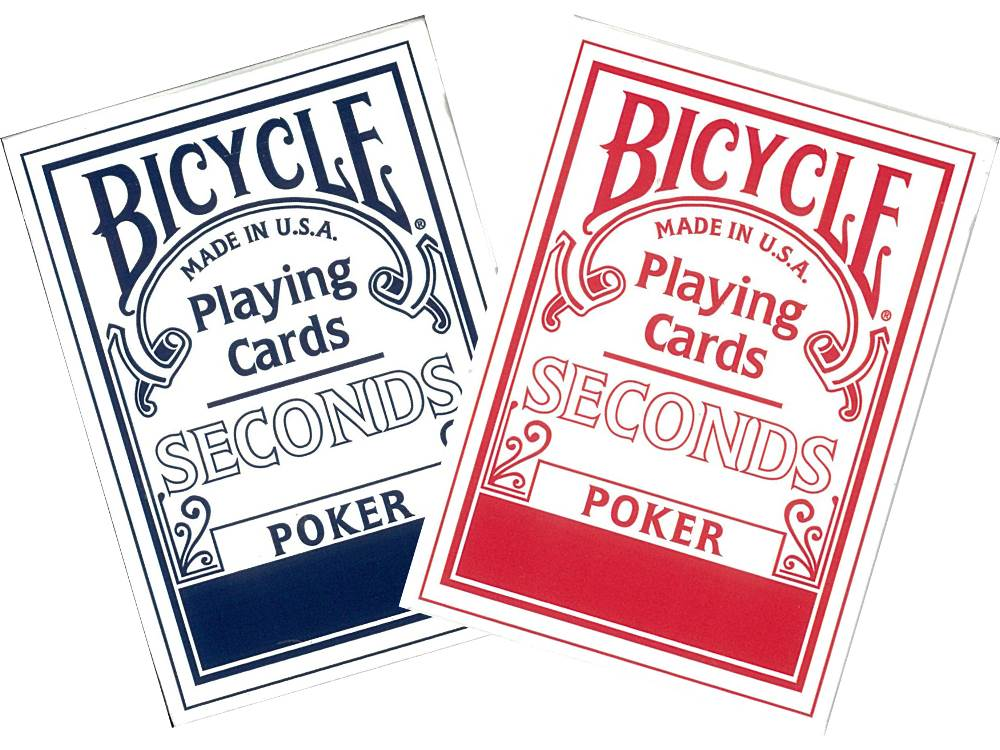BICYCLE POKER SECONDS
