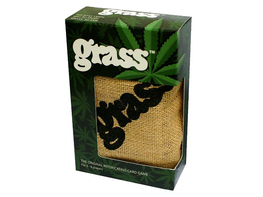 GRASS CARD GAME (w/BAG) IN BOX