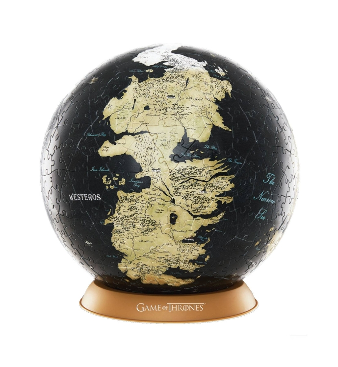 "GAME OF THRONES 4D 6"" GLOBE"