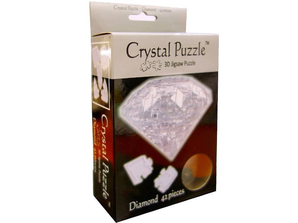 3D DIAMOND CRYSTAL PUZZLE