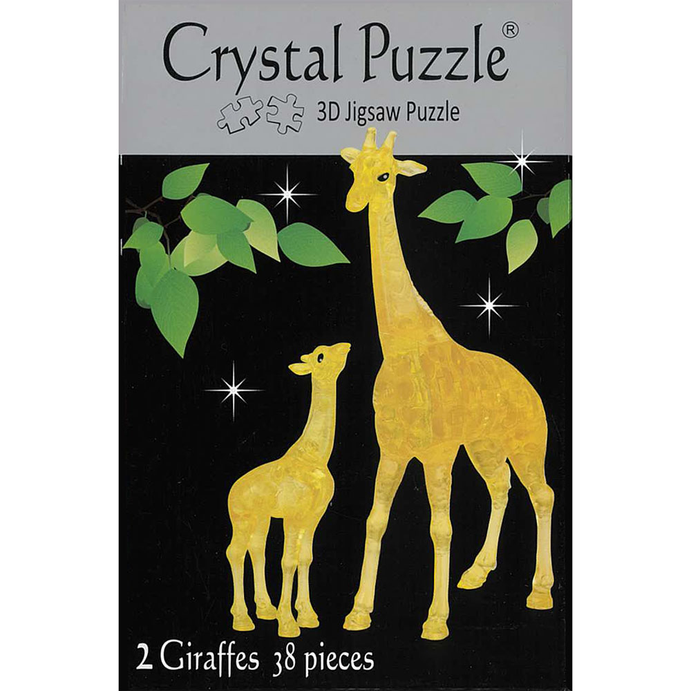 3D GIRAFFES CRYSTAL PUZZLE
