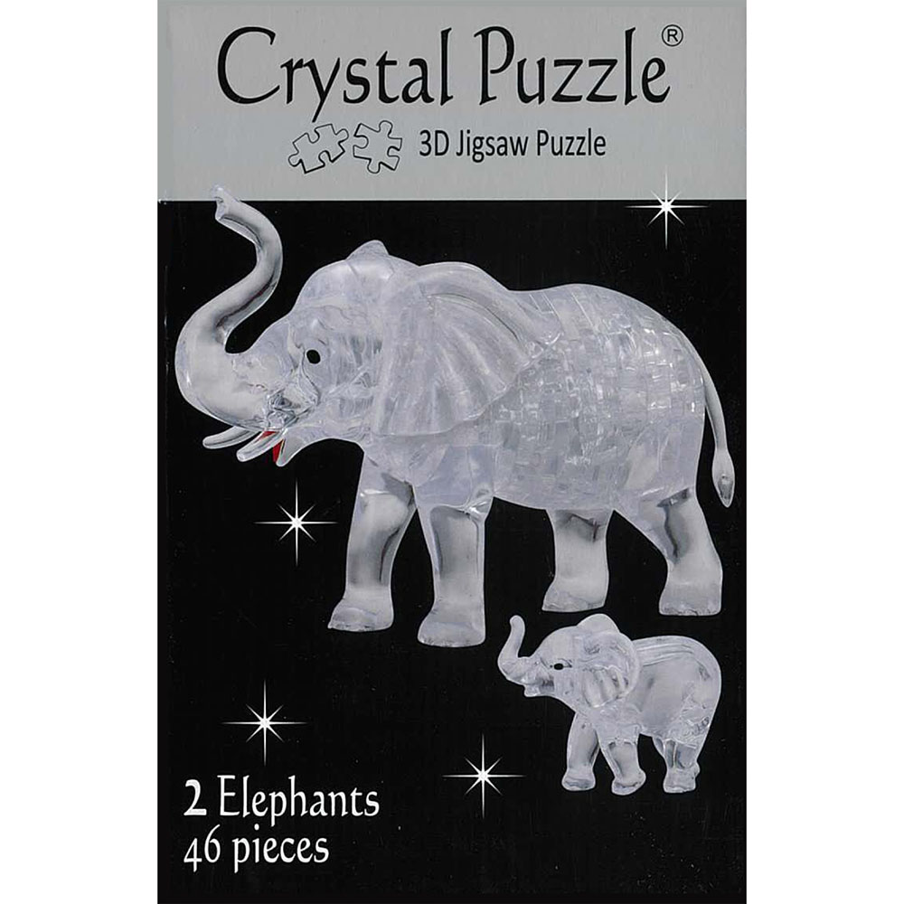 3D 2xELEPHANTS PUZZLE