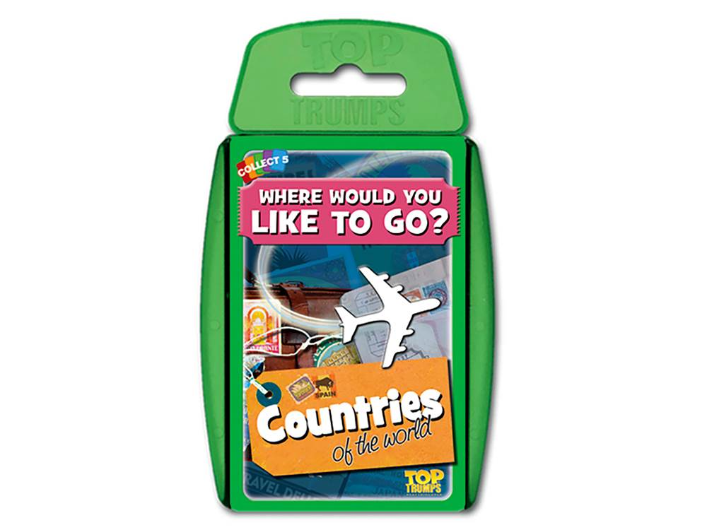 TOP TRUMPS COUNTRIES OF WORLD