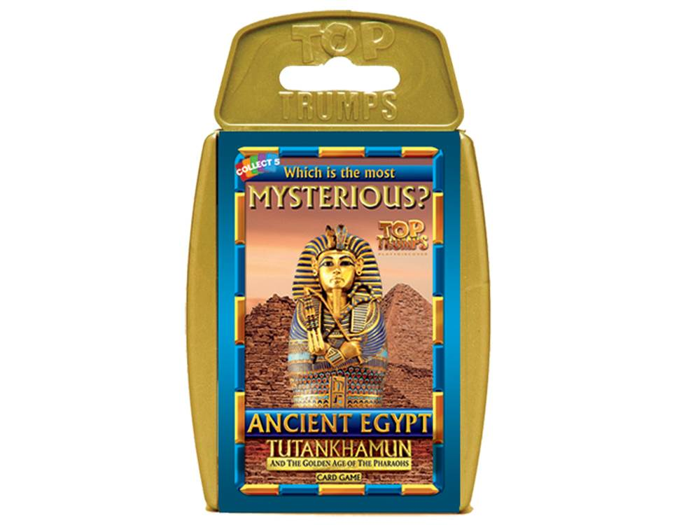 TOP TRUMPS ANCIENT EGYPT