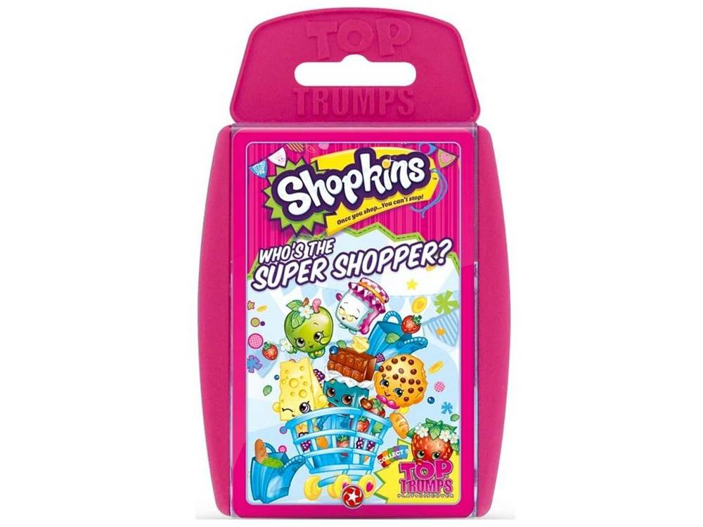 TOP TRUMPS SHOPKINS