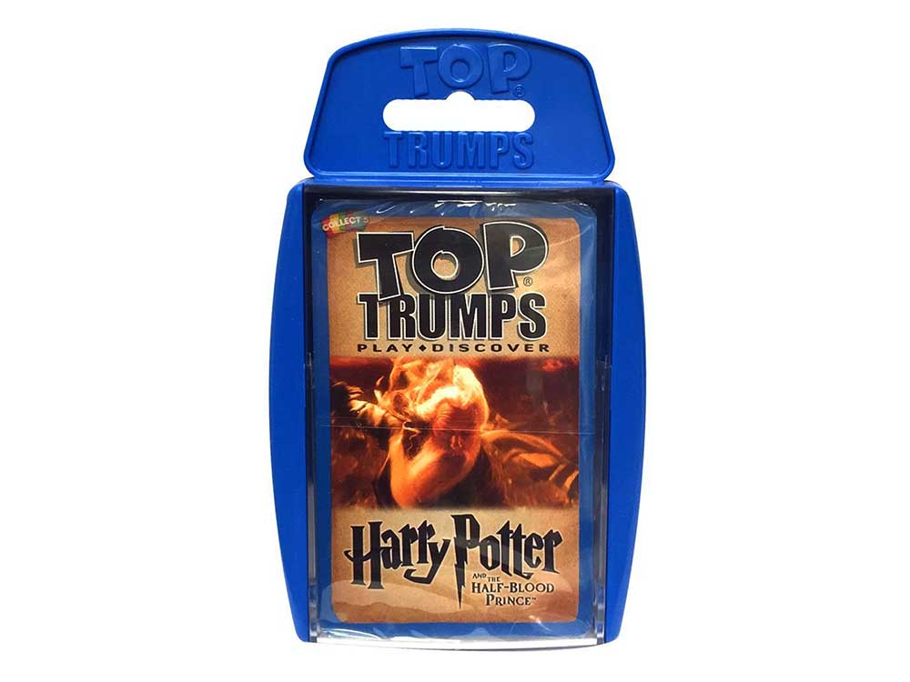 TOP TRUMPS H.POTTER HALF BLOOD