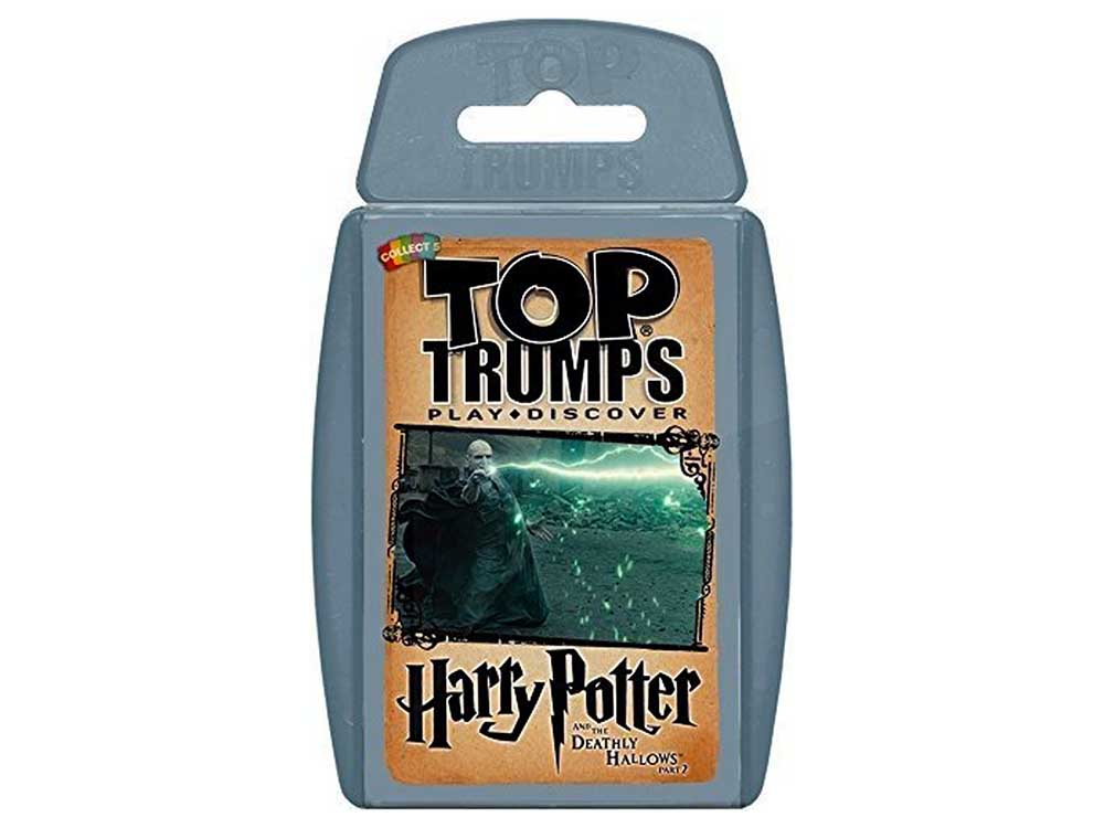 TOP TRUMPS H.POTTER DEATHLY 2
