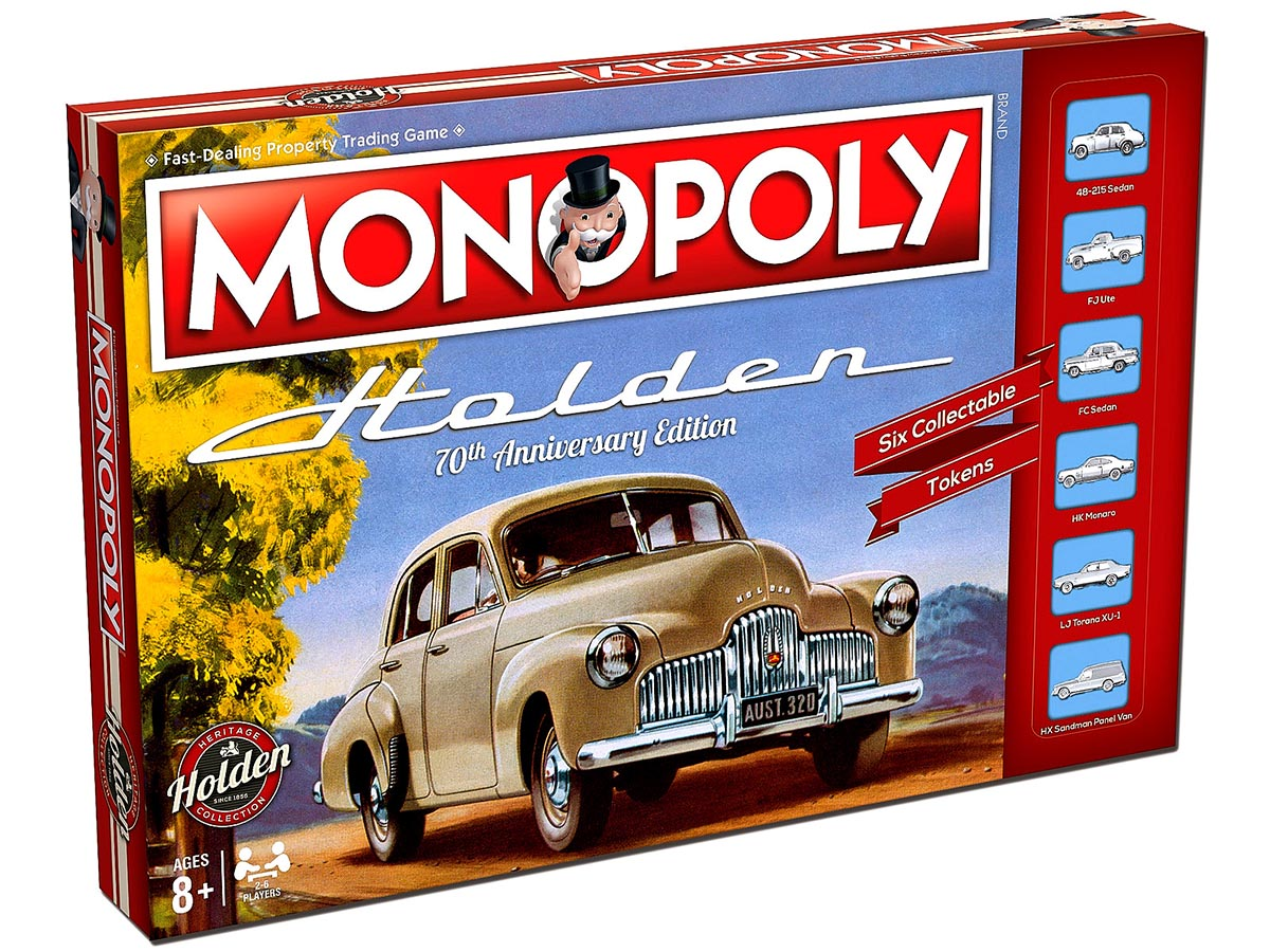 MONOPOLY HOLDEN 70th ANNIVERSA