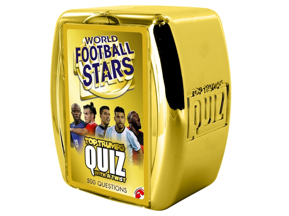 TOP TRUMPS QUIZ WORLD FOOTBALL