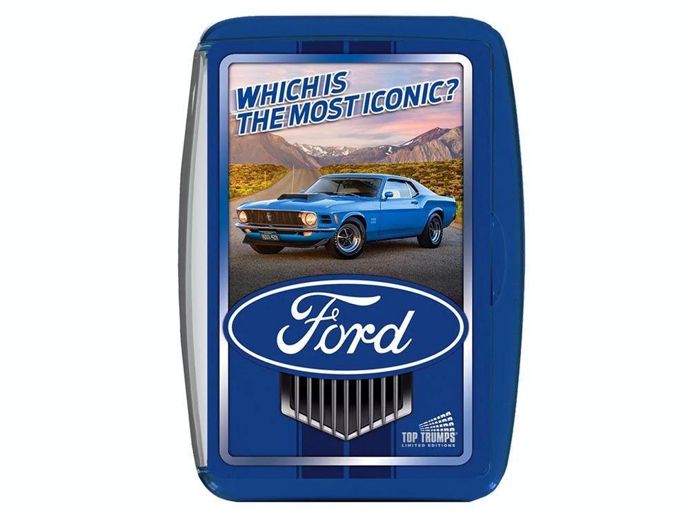 TOP TRUMPS FORD MOST ICONIC
