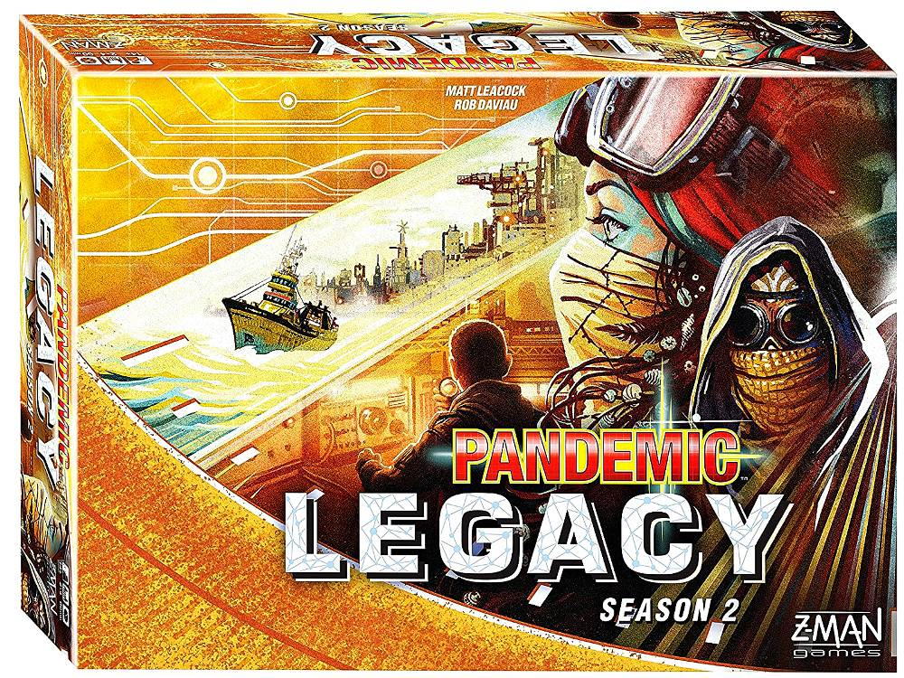 PANDEMIC LEGACY yellow edition