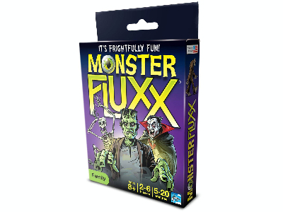 FLUXX MONSTER SINGLE DECK