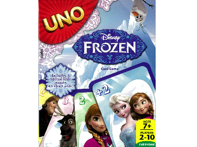 UNO FROZEN CARD GAME