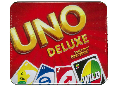 UNO DELUXE IN TIN