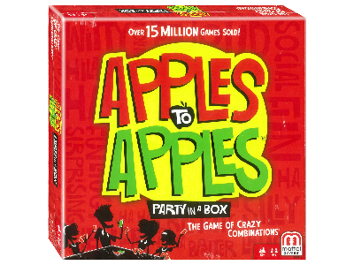 APPLES TO APPLES PARTY IN A BO