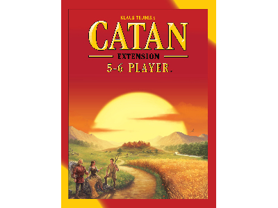 CATAN, 5TH ED, 5&6 PLAYER