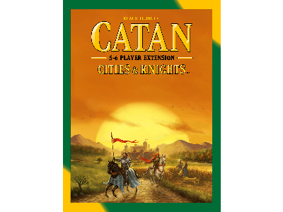CATAN, CITIES KNIGHTS 5&6 5TH