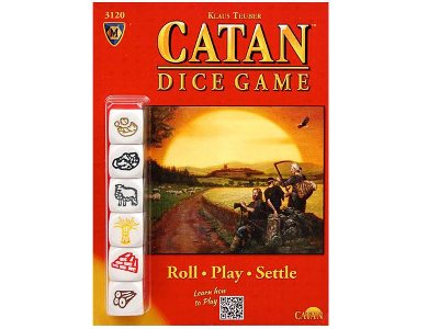 CATAN DICE GAME CLAMSHELL