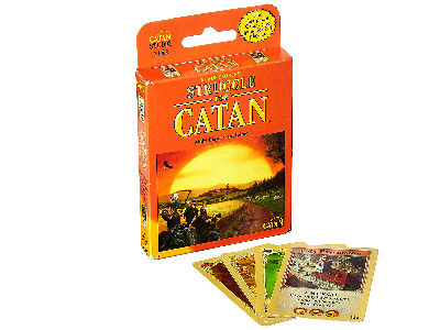 STRUGGLE FOR CATAN, CARD GAME