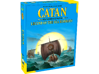 CATAN SEAFARERS LEGEND ROBBERS