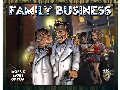 FAMILY BUSINESS CARD GAME
