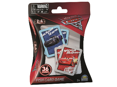 DISNEY CARS GO FISH