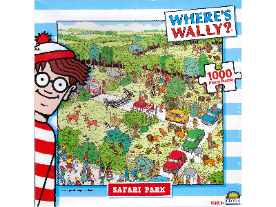 WHERE'S WALLY 1000pc Asstd