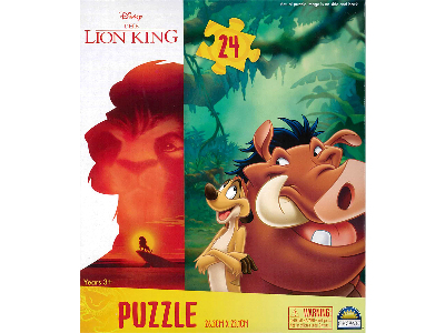 LION KING 24pc PUZZLE