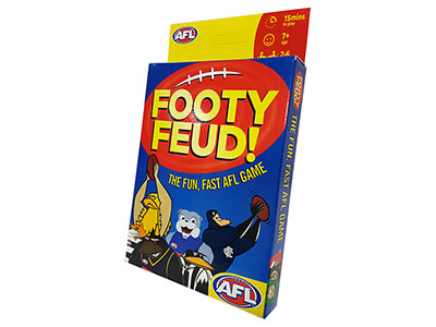 FOOTY FEUD AFL CARD GAME
