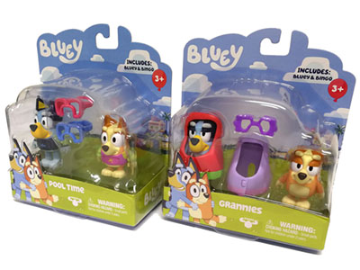 BLUEY 2 FIGURE PACK ASSORTMENT