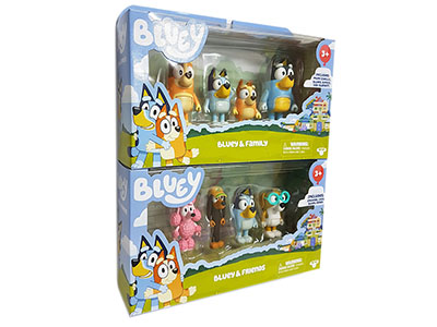 BLUEY CHARACTER S3 4-PACK