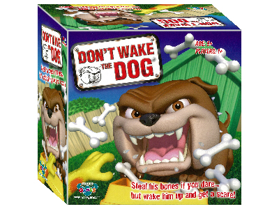 DON'T WAKE THE DOG