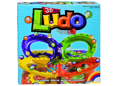3D ACTION LUDO GAME