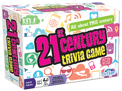 21st CENTURY TRIVIA CARD GAME