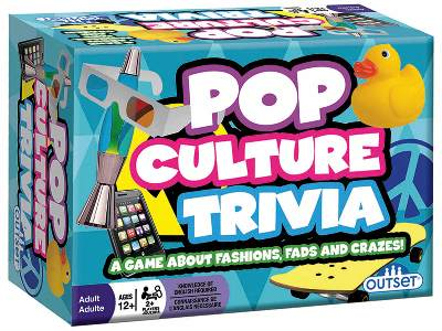 POP CULTURE TRIVIA CARD GAME