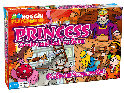 PRINCESS SNAKES & LADDERS