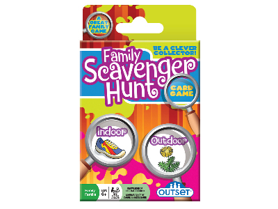 FAMILY SCAVENGER HUNT CARD GAM