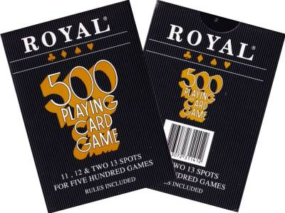 500 ROYAL PLAYING CARD GAME