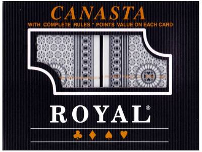 ROYAL CANASTA PLAYING CARDS