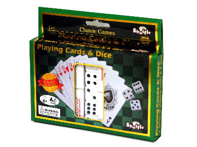 PLAYING CARDS & DICE(Shuffle)