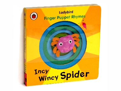 INCY WINCY SPIDER FINGER PUPP.