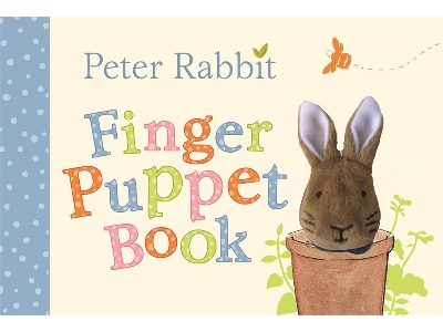 PETER RABBIT FINGER PUPPET BK