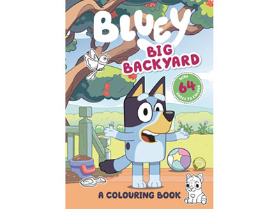 BLUEY BIG BACKYARD COLOURING