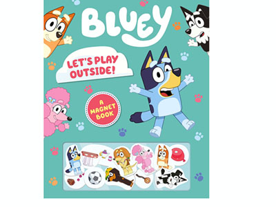 BLUEY - LETS PLAY OUTSIDE