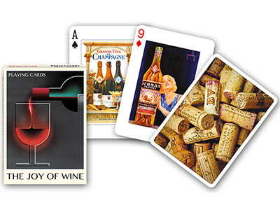 THE JOY OF WINE SINGLE DECK
