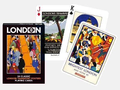 LONDON TRANSPORT POSTERS POKER