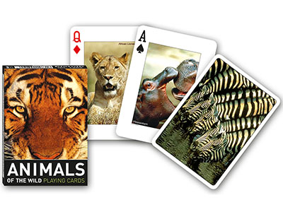 ANIMALS OF THE WILD POKER