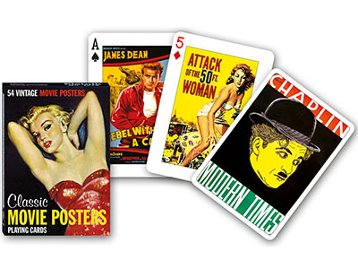 MOVIE POSTERS POKER